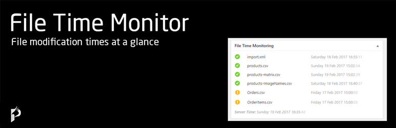 File Time Monitor WordPress Plugin